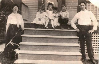 The Otto Raus family